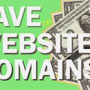 How to Save Money – Website Domains and Renewals