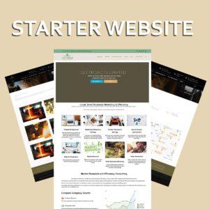 Starter Wordpress Website