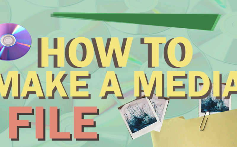 How to Create a Media File/Drive for Marketing